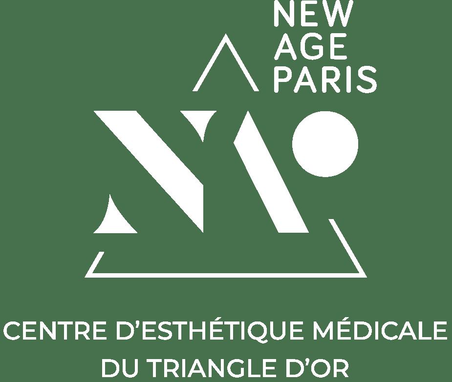Logo Centre New Age Paris Blanc simple